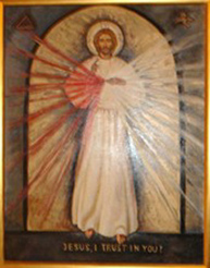 Icon of the Divine Mercy